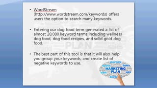Generating A Knockout Keyword List - Video