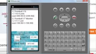 Shopping Cart App Android Project for Edureka - Video