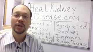 How To Stop Kidney Disease Damage With Nutrition and Diet Tip - Video