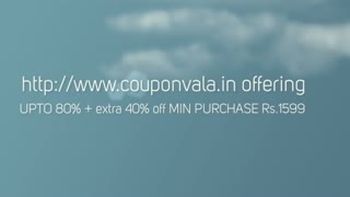 Jabong Offer - Upto 80% Off + Extra 40% Discount - Video
