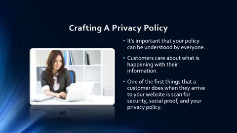 How To Write A Privacy Policy 1
