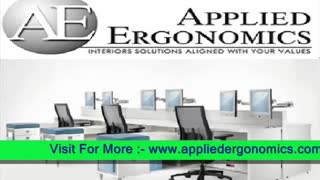 Ergonomics Desk Chair from Appliedergonomics- - Video