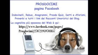 La pagina Facebook di Prosdocimi - Video