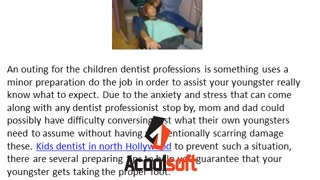 dentist for children north Hollywood - Video