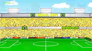 BRAZIL v CROATIA 3-1 - Video