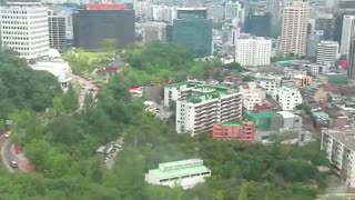SEOUL TOWER CABLE CAR RIDE - Video