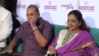 Actress Krishna, Vijaya Nirmala Inaugurates 'Happy Family Logo - Video