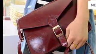 Buy Cheap women leather handbag Online - Video