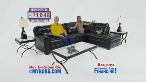 Bob's Discount Furniture Mercury Sectional!