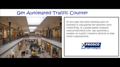 Retail People Counter - www.prodcotech.com