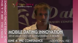 iDate June 4-6, 2014 Beverly Hills Overview of the Mobile Dating Conference Agenda - Video