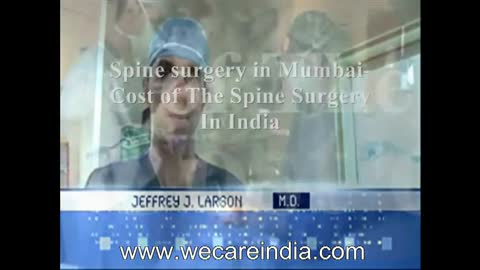 Spine Surgery in Mumbai-Cost of The Spine Surgery In India