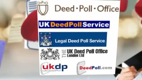 Deed poll : Trusted Expert services
