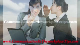 Communication in the workplace , work place communication - Video