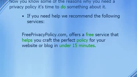 10 Reasons Why You Need a Privacy Policy