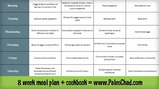 Ultimate Paleo Diet Meal Plan - Video