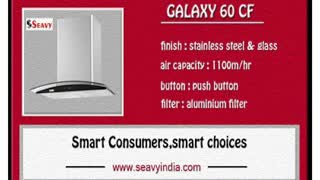 Seavy electric kitchen chimney appliances price - Video