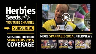 Vision Seeds Interview @ Spannabis 2014 - 15-17 March - Video