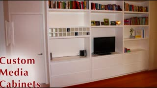 Custom Media Cabinets New York - Video