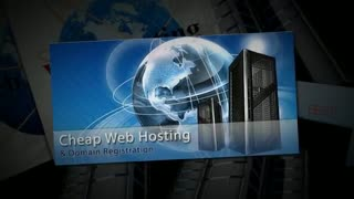 Cheap web hosting - Video