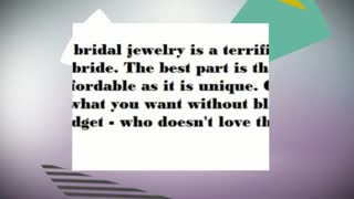 Custom bridal jewelry - Video