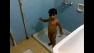 A little Boy Dancing - Video