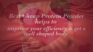 Best Cheap Protein Powder - Video