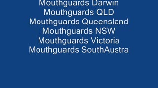 Mouthguards NSW - Video