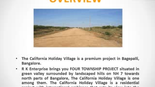 The California Holiday Village Bangalore - Video
