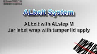 ALstep Jar Labelling - Label Makers UK - www.rlsltd.co.uk - Video