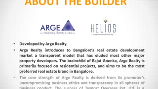 Arge Helios Bangalore - Video