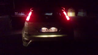 Ford focus rs, flames, girls, clubs, cars - Video