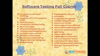 Unicode Technologies - Software testing training in ahmedabad, Manual Testing, QTP, Selenium Training in Ahmedabad - Video