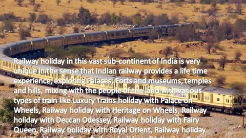 Luxury trains in India | The Palace on Wheels