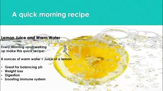 7 Health Benefits Of Drinking Lemon Water - Video