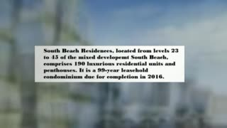 south beach residences - Video