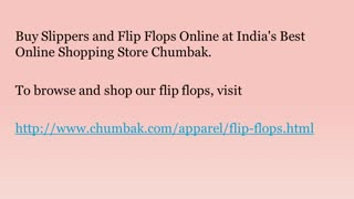 Buy Flip Flops Online - Video
