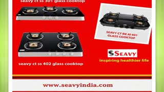 Kitchen chimney, built in hobs, cooktops (seavy) - Video