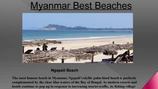 Best Beaches in Myanmar - Video