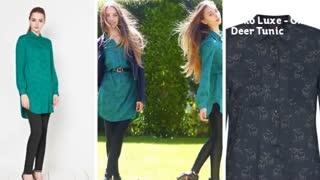 Koko Luxe | UK Fashion, Beauty and Lifestyle Blog by Rachael Jane: Oh Deer Tunic - Video
