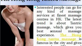 Experience Best Quality Massage Treatment in Hong Kong - Video