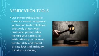 Create a Free Privacy Policy - Video