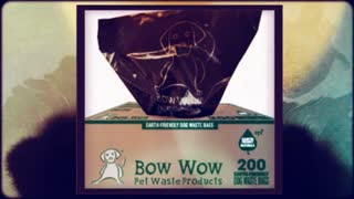 Dog Waste Bags On A Roll - Video
