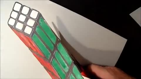 3D Cube Drawing
