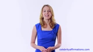 Positive Affirmations with Celebrity Voices - Video