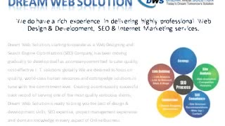 Dream Web Solution Kolkata - Video