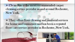Clean-Rite Floor Care Services- A Reliable Janitorial Service Provider - Video