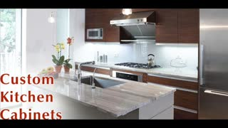 NYC Kitchencabinets - Custom Cabinetry - Video