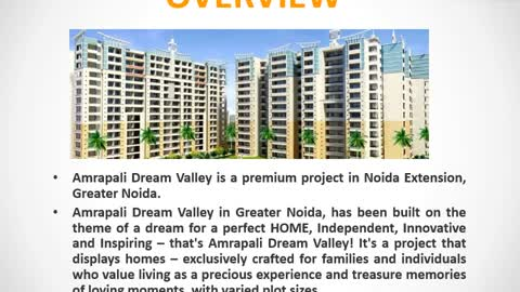 Amarpali dream valley greaternoida | Amarpali dream valley Noida Extension | Properties in Noida Extension | Commonfloor