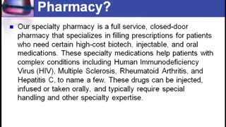The Rxcare Pharmacy Specialty Services - Video